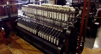 textile spinning machine